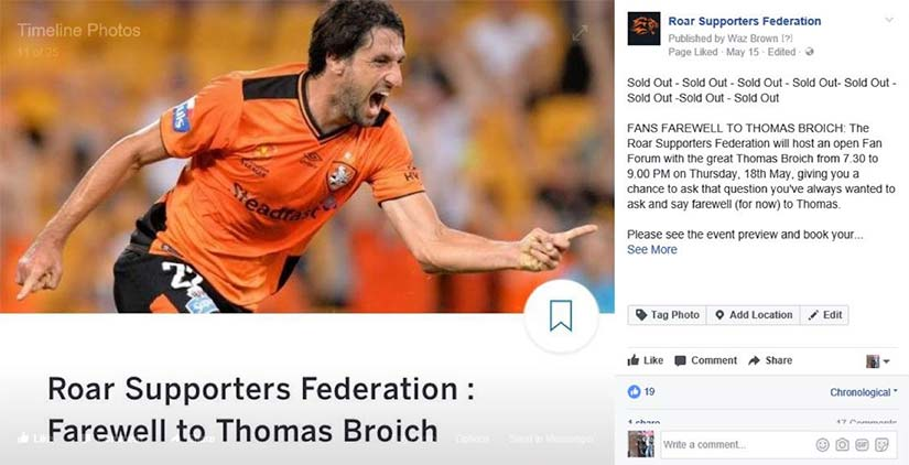 Roar-Supporters-Federation-farewell-to-Thomas-Broich